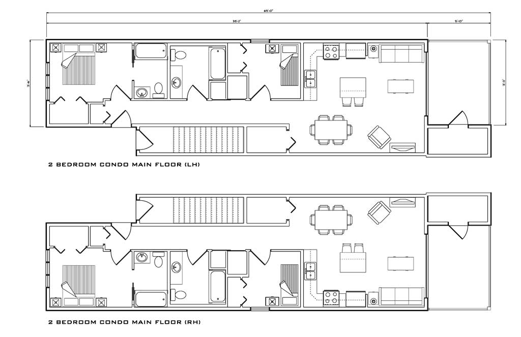 8 Condo Floor Plans Designed To Suit Your Needs Yards On Fourth